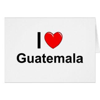 Guatemala Card
