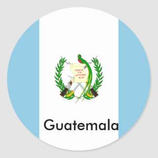 Guatemala! Classic Round Sticker