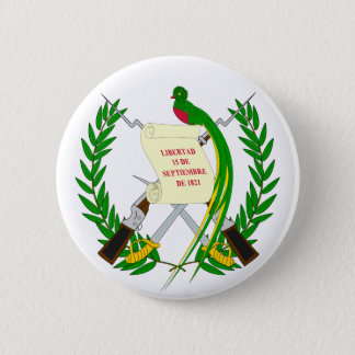 Guatemala Coat of Arms Button