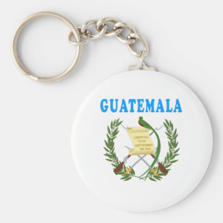 Guatemala Coat Of Arms Designs Keychain