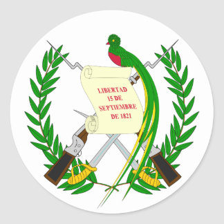 Guatemala Coat of Arms Sticker