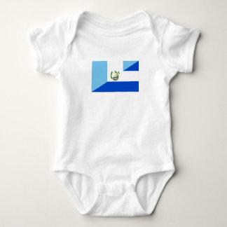 guatemala el salvador half flag country symbol baby bodysuit