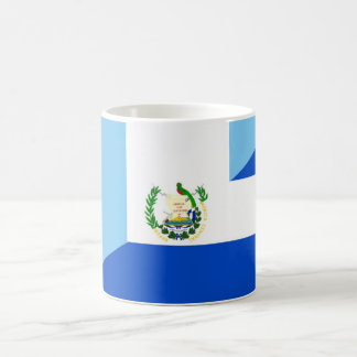guatemala el salvador half flag country symbol coffee mug