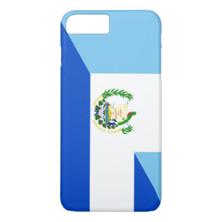 guatemala el salvador half flag country symbol iPhone 8 plus/7 plus case