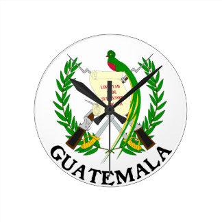 GUATEMALA - emblem/flag/coat of arms/symbol Clock
