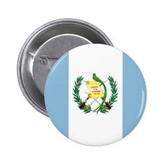 Guatemala Flag 2 Inch Round Button