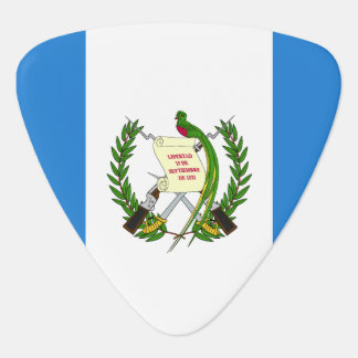 Guatemala Flag Guitar Pick