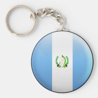 Guatemala Flag Keychain