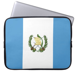 Guatemala Flag Laptop Sleeve
