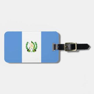 Guatemala Flag Luggage Tag