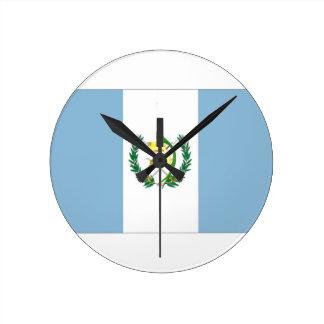 Guatemala Flag Wallclocks