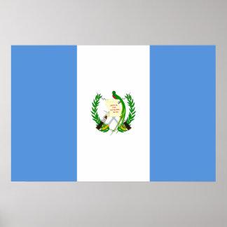 Guatemala, Grenada flag Poster