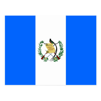 Guatemala High quality Flag Postcard
