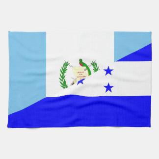 guatemala honduras half flag symbol kitchen towel