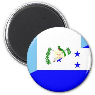 guatemala honduras half flag symbol magnet