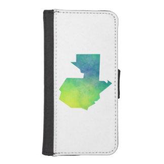 Guatemala iPhone SE/5/5s Wallet Case