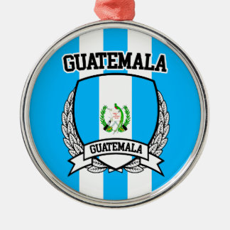 Guatemala Metal Ornament