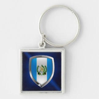 Guatemala Mettalic Emblem Keychain