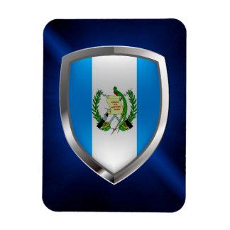 Guatemala Mettalic Emblem Magnet