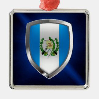 Guatemala Mettalic Emblem Metal Ornament
