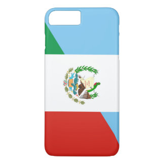 guatemala mexico half flag symbol iPhone 8 plus/7 plus case