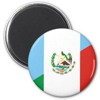 guatemala mexico half flag symbol magnet