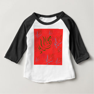 GUATEMALA RED FOLK PATTERN BABY T-Shirt