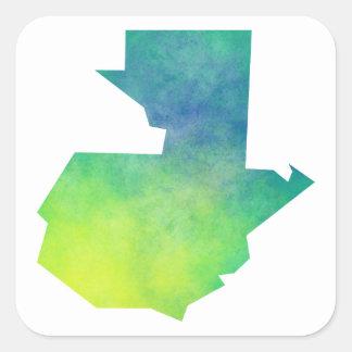Guatemala Square Sticker