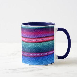 Guatemalan Fabric Stripe Mug