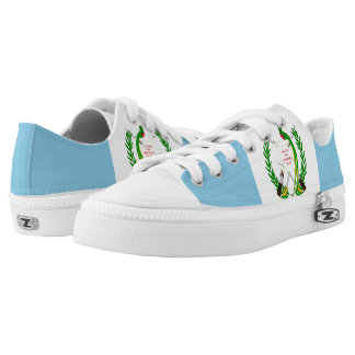 Guatemalan Flag Low-Top Sneakers