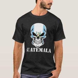 Guatemalan Flag Skull Guatemala T-Shirt