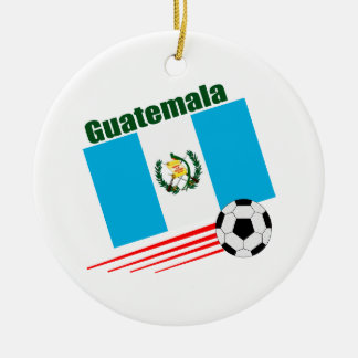 Guatemalan Soccer Team Ceramic Ornament