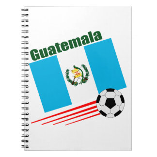 Guatemalan Soccer Team Notebooks