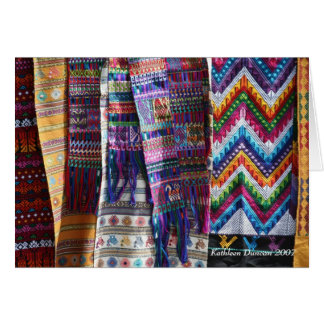Guatemalan Weaving Card