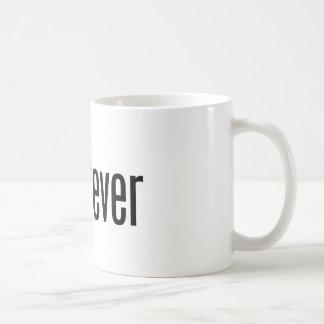 guatever white mug