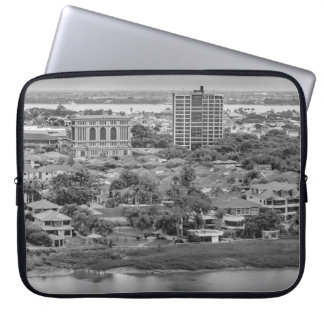 Guayaquil Aerial View from Window Plane Computer Sleeves