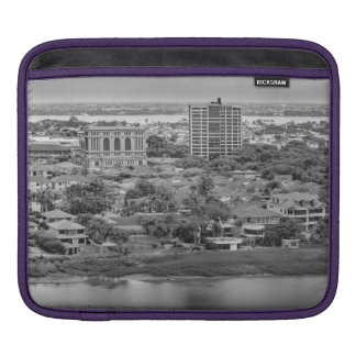 Guayaquil Aerial View from Window Plane iPad Sleeves