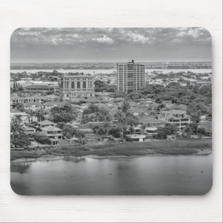 Guayaquil Aerial View from Window Plane Mouse Pad