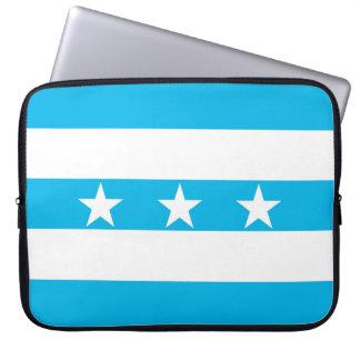 Guayaquil city flag Ecuador symbol Laptop Sleeve
