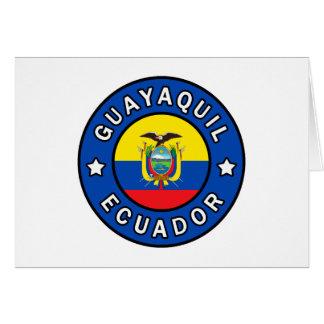 Guayaquil Ecuador Card