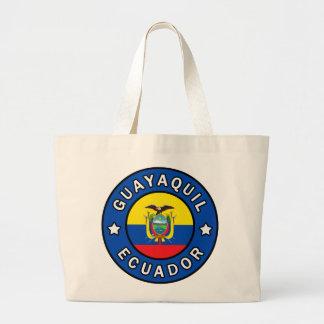 Guayaquil Ecuador Large Tote Bag