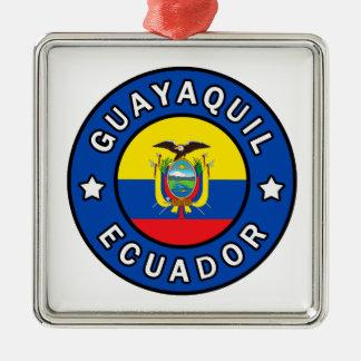 Guayaquil Ecuador Metal Ornament