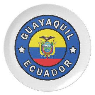 Guayaquil Ecuador Plate