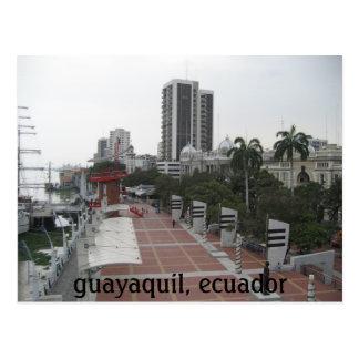 guayaquil, ecuador postcard