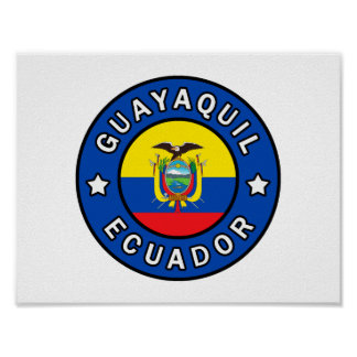 Guayaquil Ecuador Poster