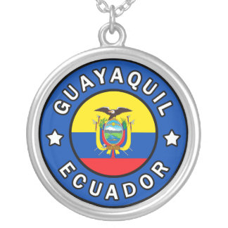 Guayaquil Ecuador Silver Plated Necklace