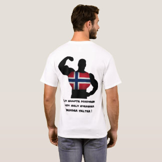 Gud skapte nordmenn fordi svensker trenger helter T-Shirt