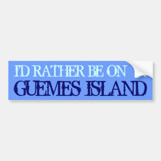 Guemes Island Bumper Sticker