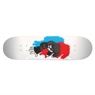 Guerilla Militia: Cartoon Icon Skate Deck
