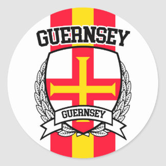 Guernsey Classic Round Sticker